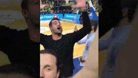 Volkan Demirel den Galatasaray'a Küfürlü Tezahürat