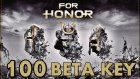 100 Adet For Honor Beta Key Bu Videoda