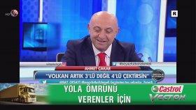 Ahmet Çakar: Volkan Demirel 3'lü Değil Artık 4'lü Çektirsin