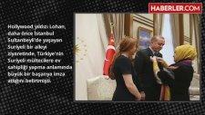 Lindsay Lohan Tüm Geçmişini Silip Erdoğan'la Yeni Bir Başlangıç Yaptı