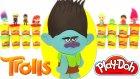 Troller Filmi Çalı Sürpriz Yumurta Oyun Hamuru - Troller Oyuncak MLP Cicibiciler