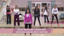Kısmetse Olur - Gamze Taşkın'dan Spor Dersleri! (30 Ocak 2017)