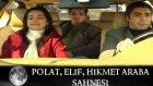 Polat, Elif ve Hikmet Araba Sahnesi - Kurtlar Vadisi 40.Bolum