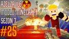 Modlu Minecraft Sezon 7 Bölüm 25 - Nükleer Reaktör Yapımı!