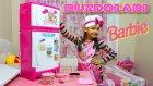 Barbie Buzdolabı Aldık Dev Gibi Çok Gerçekci Ve Çok Güzel | Barbie DEV Mutfak Serisi | Evcilik Oyunu