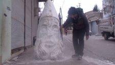 Kardan Nemrut Heykeli Yaptı