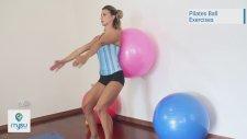 Pilates Hareketleri 9 - Pilates Topu Egzersizleri