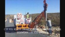 EGEMSAN İnşaat Trafik (Midyat Mor Gabriel Manastır Yolu Trafik Levhası Montajı)