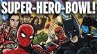 Dövüş Arenasında Popüler Süper Kahramanların Buluştuğu Harika Video