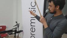 Baget Tutuşu Nasıl Tutulur Tekniği Elektro Bateri Dersi Davul Dersi Mustafa Cenk Saraç