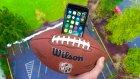 iPhone 7, Amerikan Futbol Topu İçerisinde Fırlatılırsa