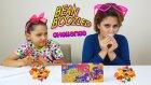 Kuzenim Sinem İle Berbat Kötü Şans Şekeri Oyununu Oynadık | Bean Boozled Challenge