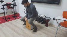 Cajon Kahon Tanıtımı Cajon Nasıl Çalınır Mustafa Cenk Saraç DoRe Müzik Workshop
