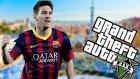 Messı Ve Futbol Modu! - Gta V Modları - Burak Oyunda