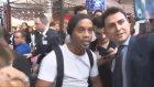 Havalimanında Ronaldinho İzdihamı