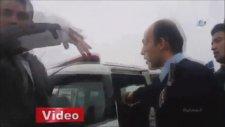 Polise Yumruk Atan Sürücünün Linç Edilmesi