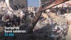 Suriye'deki Hava Saldırısında 21 Kişi Hayatını Kaybetti
