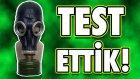 Gaz Maskesini Test Ettik - Ne Kadar Koruyor?