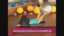 Pilates Topu İle Egzersizler ~ İncelme, Sıkılaşma ve Zayıflama Hareketleri