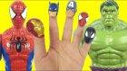 Spiderman vs Hulk Finger Family Song   Daddy Finger Nursery Rhymes For Children