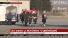 171. Günde Fırat Kalkanı'nda 23 Terörist Etkisiz Hale Getirildi