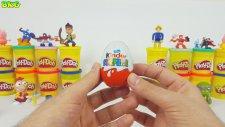 Little Einsteins Giant Play Doh Surprise Egg Thomas Disney Cars Inside Out MLP Kinder Surprise