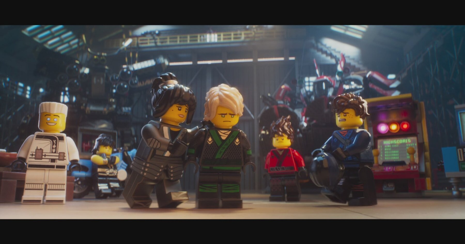 The Lego Ninjago Movie - Fragman (2017) | İzlesene.com