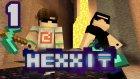 Minecraft: Hexxıt #1 - İnadına Ölmedik!