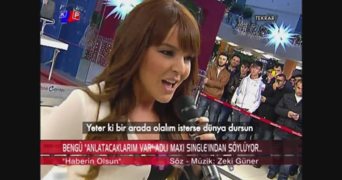 Bengü - Haberin Olsun | Song Lyrics | Sozbul.net