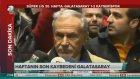 Galatasaray Taraftarından Cengöz Özyalçın'a Beyaz Mendil