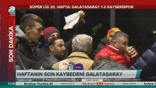 Canlı Yayında Galatasaraylı Yöneticiye Tepki!