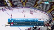 Rusya'ya 42-0 Yenilen Türk Milli Buz Hokey Takımı