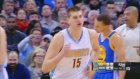 Nikola Jokic'ten Warriors'a karşı triple-double!