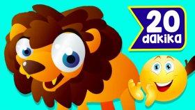 Aslanı Seviyorsan Alkışla | 20 Dakika Çocuk Şarkısı | Çizgi Film