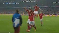 Bayern Münih 3-1 Arsenal Gol: Thiago Alcantara (15 Şubat 2017)