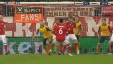 Bayern Münih 4-1 Arsenal Gol: Thiago Alcantara (15 Şubat 2017)