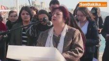 Bodrum'da Türkan Saylan Büstü Yaptırıldı