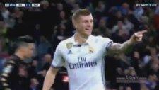Real Madrid 2-1 Napoli Gol:Toni Kroos (15 Şubat 2017)