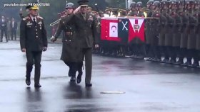 ABD'li Generalin Resmi Karşılama Töreni İle İmtihanı