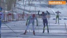 Eyof 2017 - Erkekler Kayaklı Koşu Sürat Yarışları Yapıldı