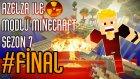 Modlu Minecraft Sezon 7 Bölüm 28 - FİNAL - Nükleer Reaktör Patlaması ve Atom Bombası