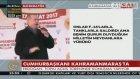 Cumhurbaşkanı Erdoğan: Böyle Bir Milletin Reis-İ Cumhuru Olmaktan Güzel Ne Olabilir Ki?