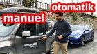 Trafikte Manuel ve Otomatik kullanmak - Vlog