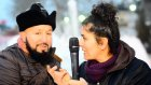 Ahsen Tv Muhabirini Rezil Rusva Eden Laz Kızı