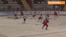 Eyof 2017 - Erkekler Buz Hokeyi Finalinde Altın Madalyayı Rusya Kazandı