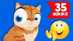 Kediyi Seviyorsan Alkışla | 35 Dakika Çocuk Şarkısı | Popüler Çocuk Şarkıları