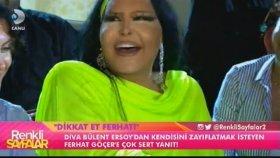 Kilolarını Eleştiren Bülent Ersoy Ferhat Göçer'e Patladı