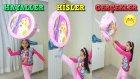 Melike Bir Savaçı Gibi Barbie Pinyata Patlattı İçindeki Sürprizleri Çıkardı!!