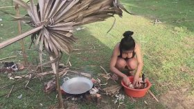 Kamboçya'da Tavuk Keyfi