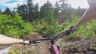 Doğada Zorlu Bisiklet Sürüşü
